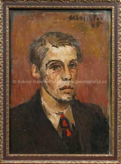 Andrej Bělocvětov - Portrét muže