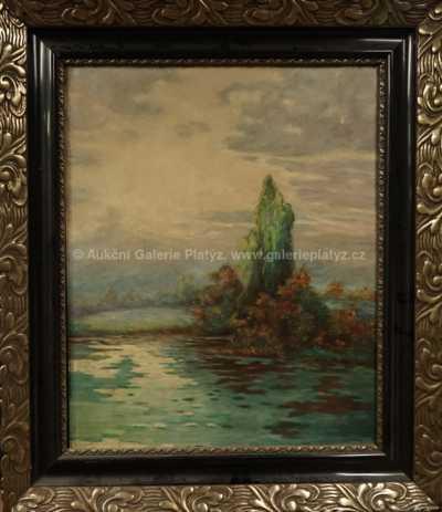 Autor neurčen - U rybníka