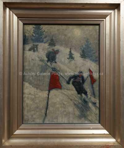 Autor neurčen - Lyžařské závody