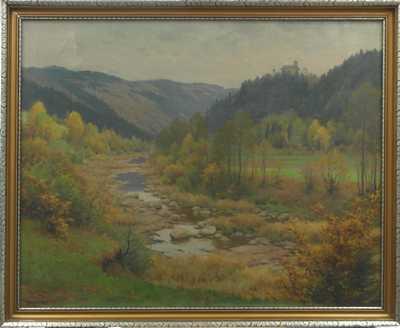 František Daněk - Sedláček - Podzimní potok