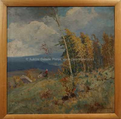 Josef  Svoboda - Podzim na horách