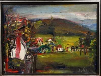 Josef Jíra - Podzim pod Černou studnicí