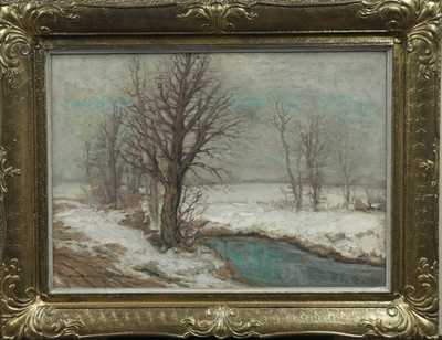 Otakar Hůrka - Potok v zimě