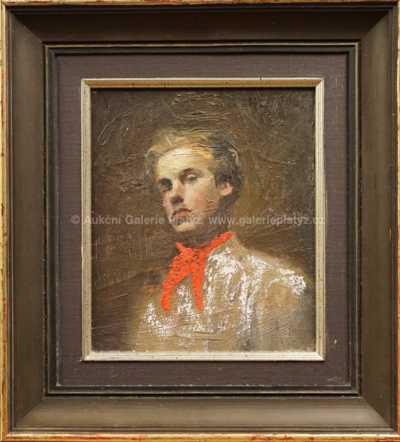Andrej Bělocvětov - Autoportrét