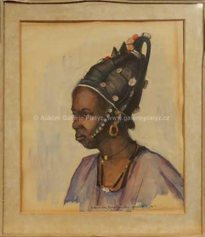 Zbyněk Štolovský - Sudánská dívka