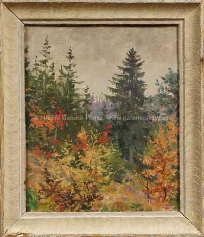 Gustav  Porš - Podzim