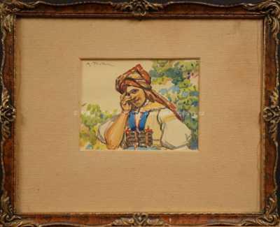 Antoš Frolka - Krojované děvče