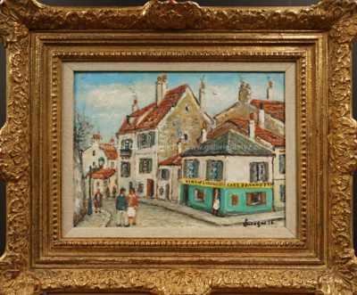 Alois Kohout - Rue de Montmartre