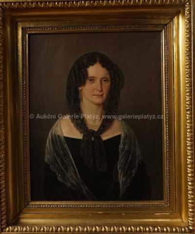 Neznačeno - Portrét dámy