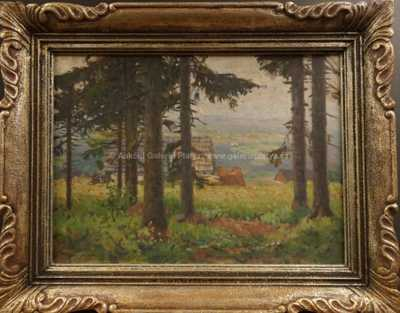 František Cína - Jelínek - Na okraji lesa