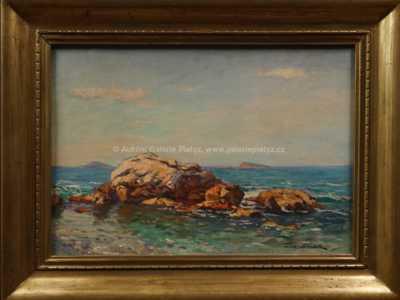 František Cína - Jelínek - Pobřežní ostrůvky