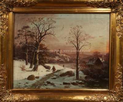 František Skála_ - Zimní motiv