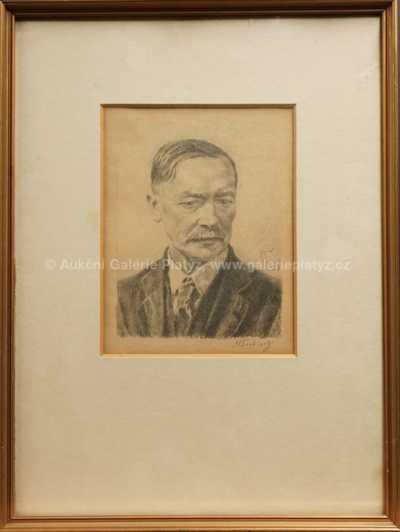 Max Švabinský - Portrét
