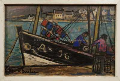 František Emler - Rybářská bárka