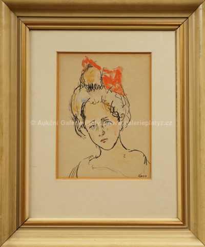 Georges Kars - Dívka s mašlí