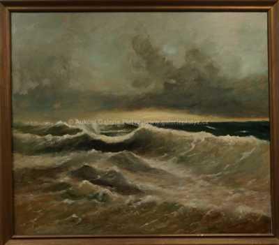 Autor neurčen - Rozbouřené moře