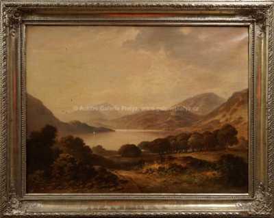 Autor neurčen - Jezero v horách
