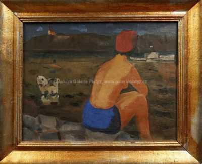 Lev Šimák - Léto u vody