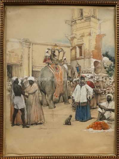 Robert Schlosser - Slavnosti v Indii
