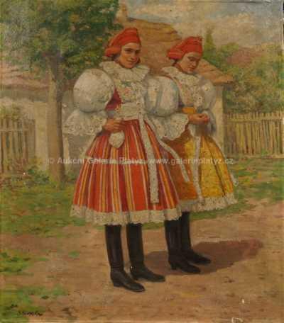 Josef (Joža) Koudelka - Krojovaná děvčata