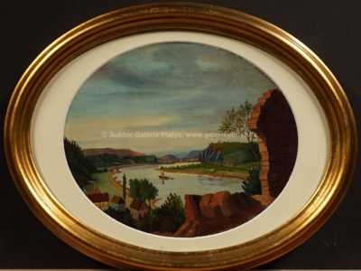 Ernst Gustav Doerell junior - Pohled na Ústí
