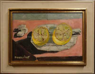 Arnošt Paderlík - Zátiší s citrony