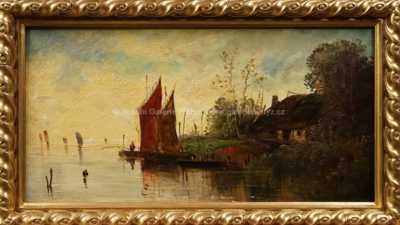 Autor neurčen - Rybářská bašta v Holandsku