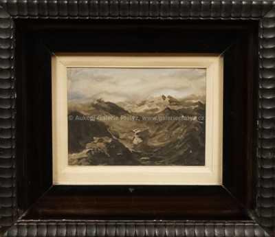 Adolf  Kašpar - Pohled na hory