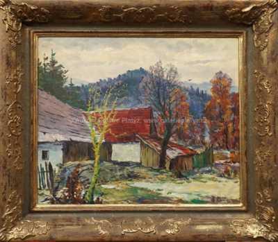 Karel Holec - Předjaří v Rožné