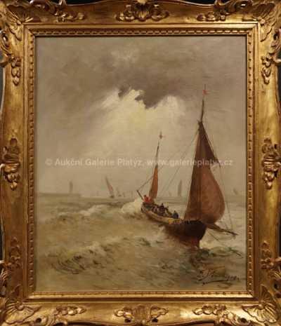 Autor neurčen - Rybářská výprava