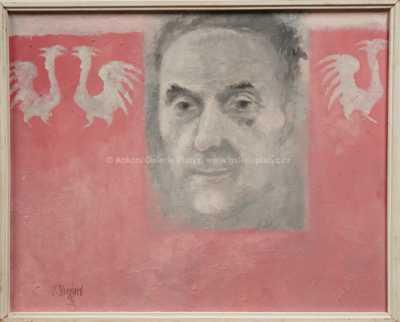Vladimír Komárek - Autoportrét