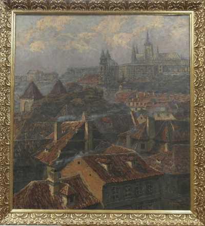 Josef Písecký (Liška) - Malostranské střechy