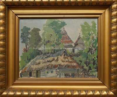 Josef Nerad - Volosianka u kostelíka