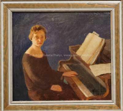František Xaver Naske - Pianistka