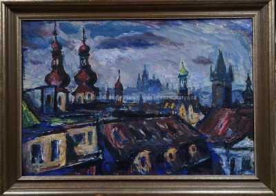 František  Max - Pražské střechy