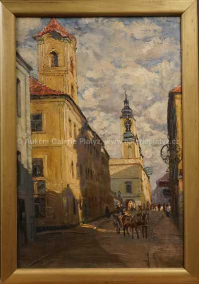 Josef Hurt - Na starém městě
