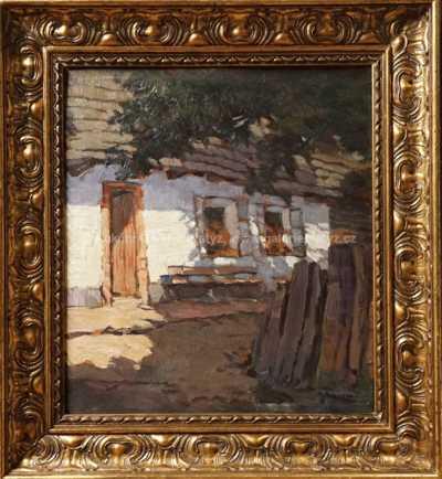Alois Kalvoda - Ve stínu stromu