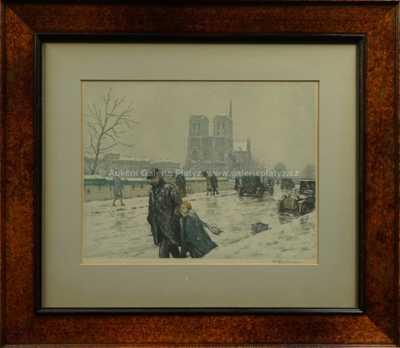 František Tavík Šimon - Zimní Paříž