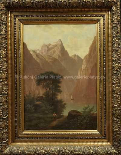 Autor neurčen - Horské jezero