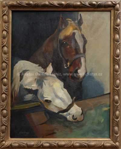 Ludvík Vacátko - Koně