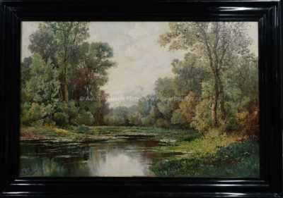 Karl Vikas - Lesní rybník