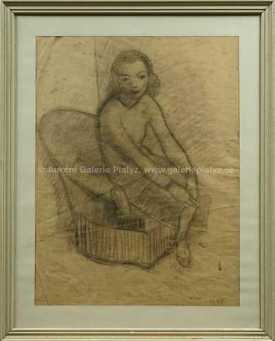 Georges Kars - Dívka na pohovce