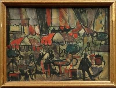 František Emler - Pařížský motiv II.