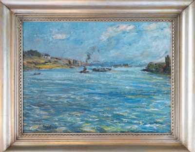 Josef Král - Parníky na řece
