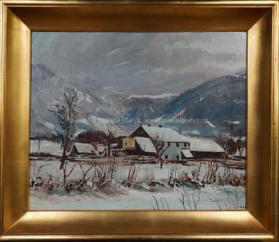 Ernst Huber - Zima pod horami