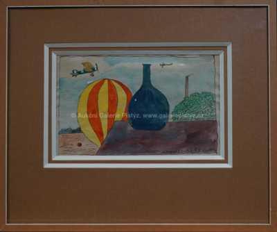 Kamil Lhoták - Balón a letadla