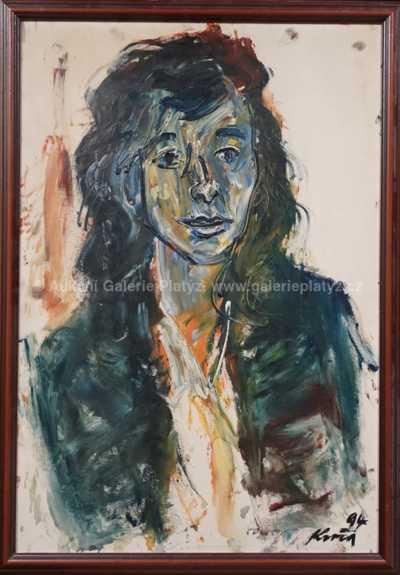 Antonín Kroča - Portrét