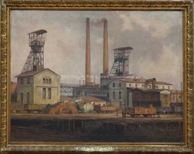 Karl Ludwig Prinz - Karolinina huť - důl Kolumbus