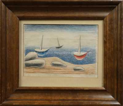 Jan  Zrzavý - Lodi na moři
