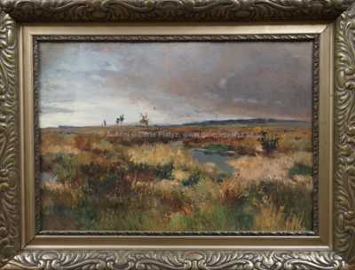 Gustav  Porš - Krajina před deštěm